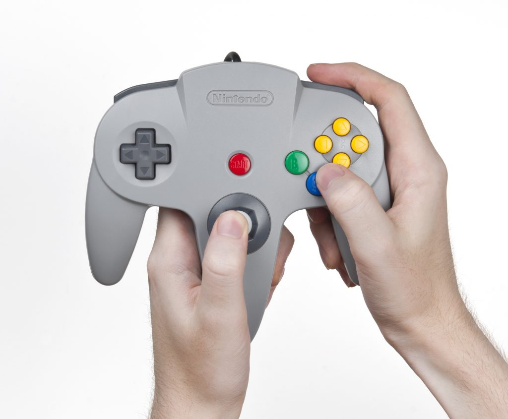 Nintendo 64 Controller How to Hold