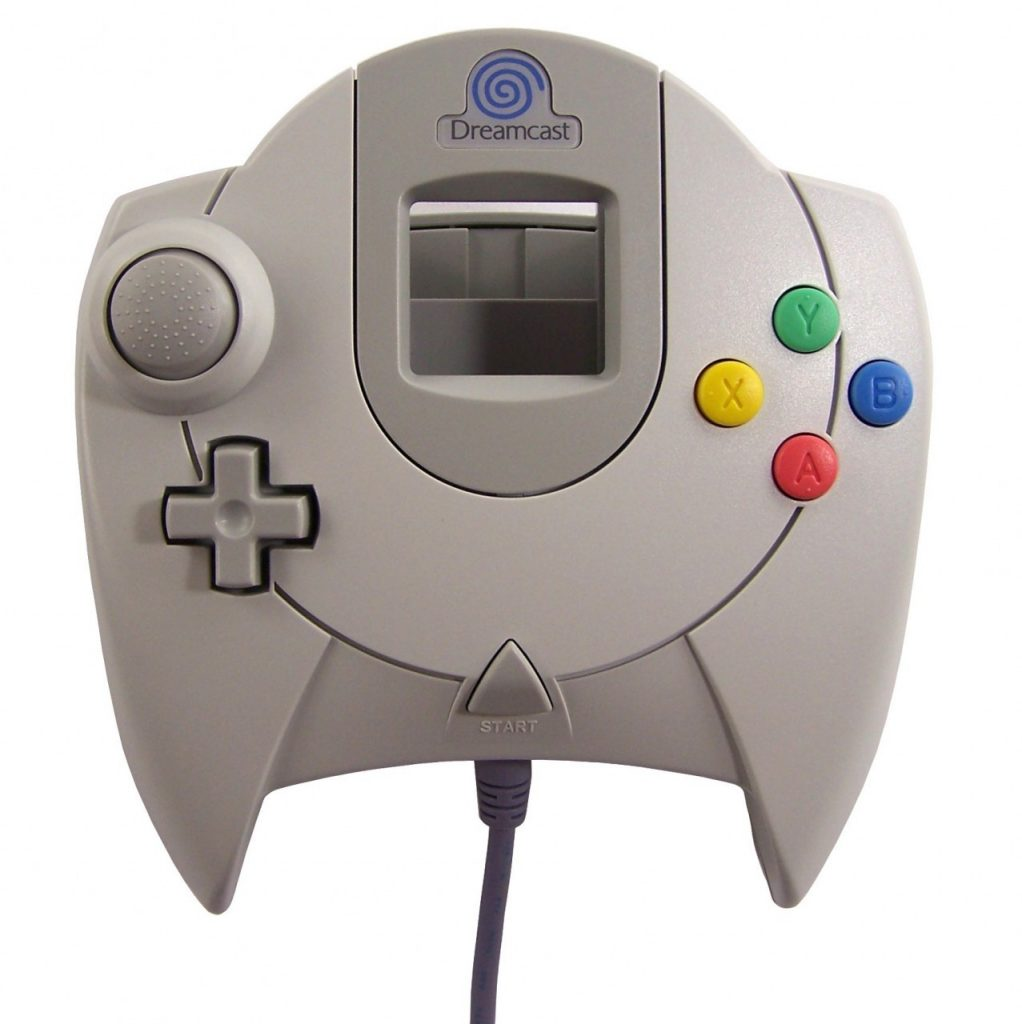 The Dreamcast controller