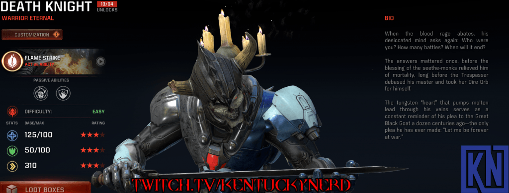 Streaming Quake Champions