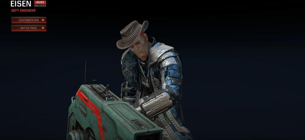 Quake Champions Eisen