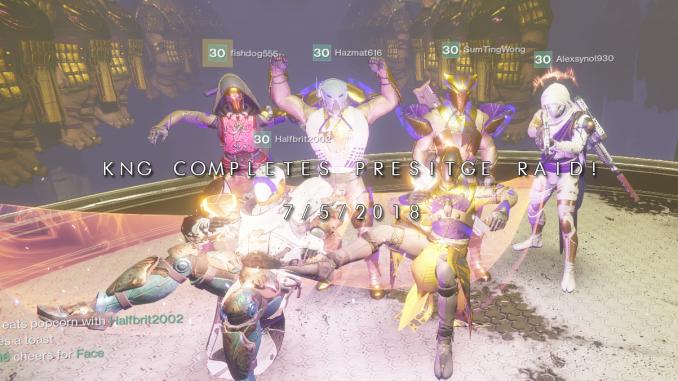 destiny 2 prestige raid
