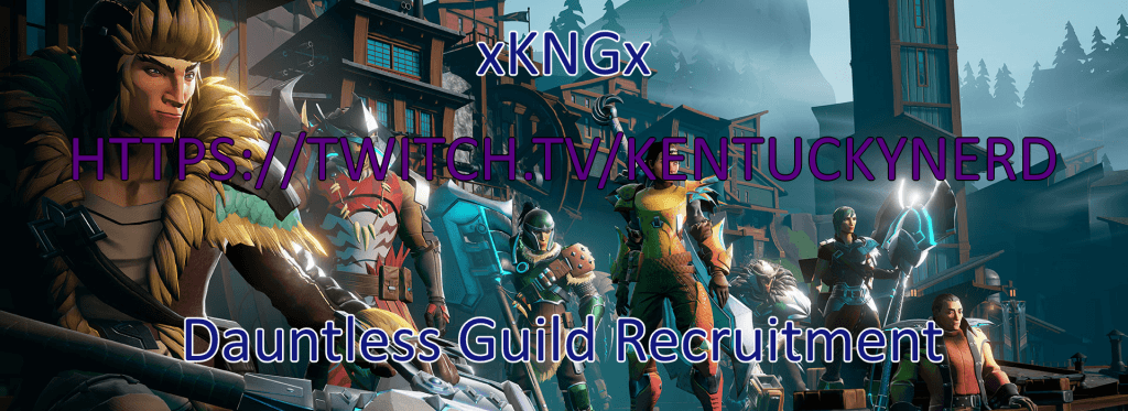 Dauntless Guild Recruitment