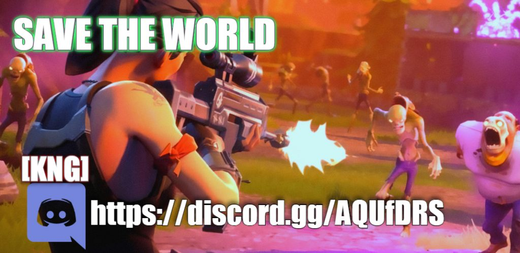 Fortnite Save the World Discord