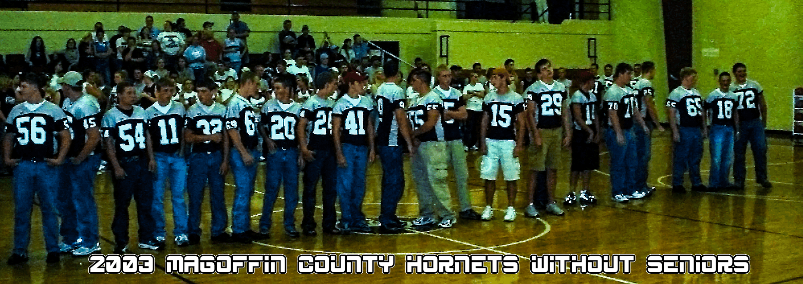Magoffin County 2003 Football