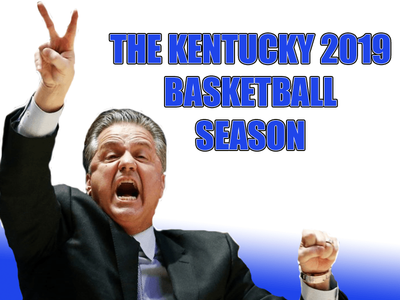 Kentucky Basketball 2019 Season